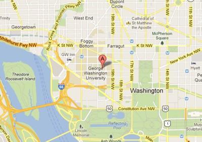 George Washington University Campus in Washington D.C.
